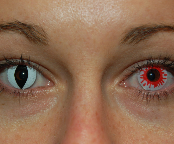 costume contacts