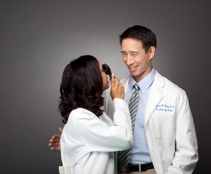 Best Doctors Honolulu cover shoot