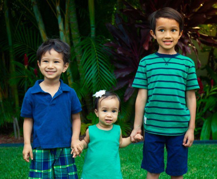 my three children