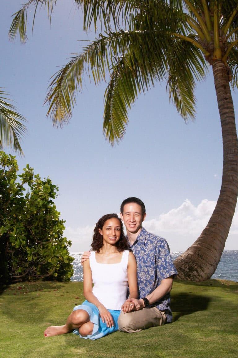 Jeff and Rupa Wong in Hawaii